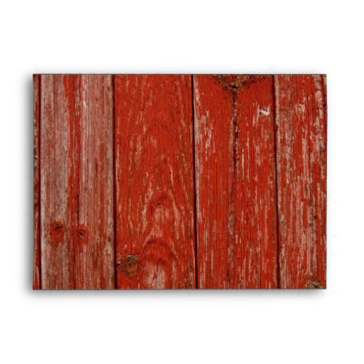 Sobres rojos viejos de la pared