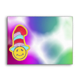 Sobres sonrientes de la cara del Hippie feliz colo