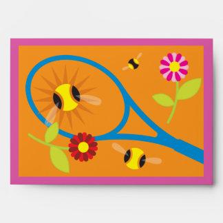 Sobres temáticos de la tarjeta de felicitación del