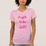 Sobreviva al cáncer camiseta