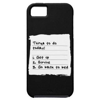 Sobreviva hoy el caso iPhone 5 protector