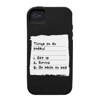Sobreviva hoy el caso iPhone 4 fundas
