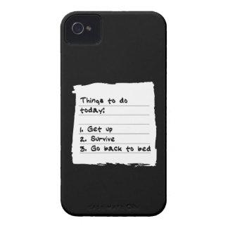 Sobreviva hoy el caso iPhone 4 cobertura