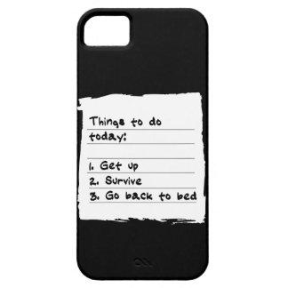 Sobreviva hoy el caso iPhone 5 cárcasas