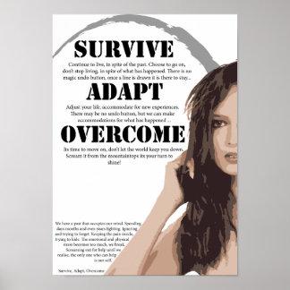 Sobreviva se adaptan superado póster