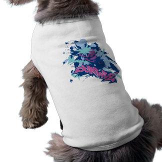 Sobreviva (ver del color del hielo.) camisetas de mascota