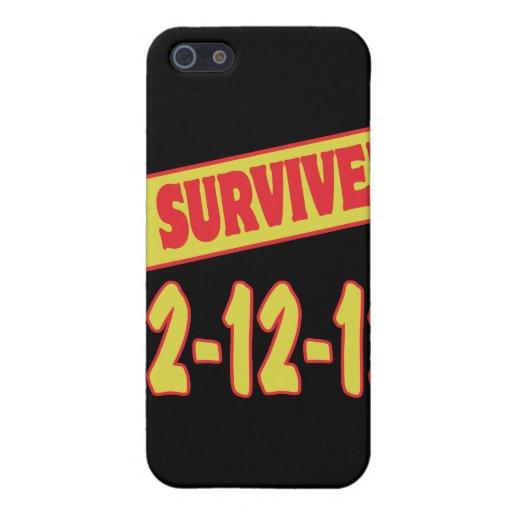 SOBREVIVÍ 12-12-12 iPhone 5 FUNDAS