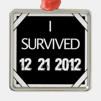 ¡SOBREVIVÍ 12.21.2012! ADORNO DE NAVIDAD