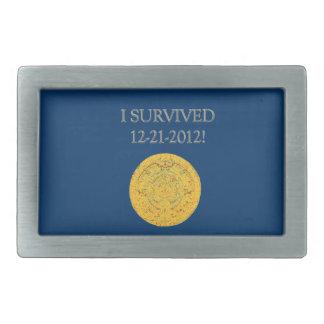 Sobreviví 12-21-2012 hebilla cinturón