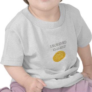 Sobreviví 12-21-2012 camisetas