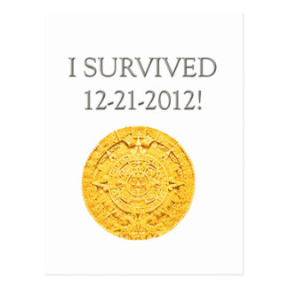 """""""Sobreviví 12-21-2012 """" Postales"""