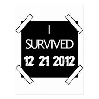 SOBREVIVÍ 12/21/2012 POSTAL