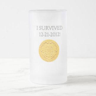 """Sobreviví 12-21-2012 "" Taza De Cristal"