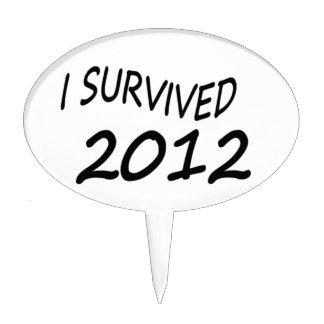 Sobreviví 2012 figura para tarta