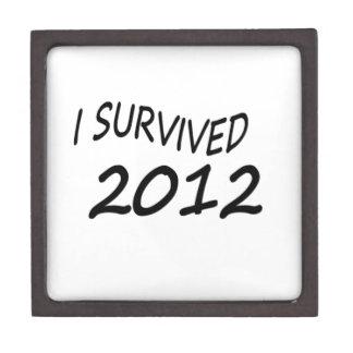 Sobreviví 2012 cajas de joyas de calidad