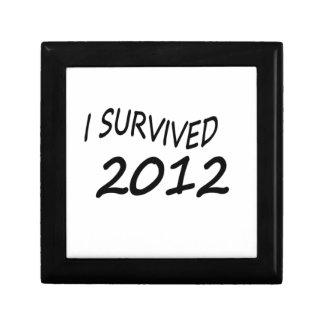 Sobreviví 2012 cajas de regalo