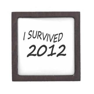 Sobreviví 2012 caja de joyas de calidad