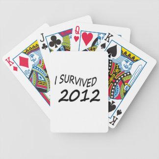 Sobreviví 2012 baraja