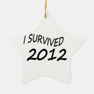 Sobreviví 2012 adorno de reyes