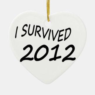 Sobreviví 2012 ornamentos de reyes magos
