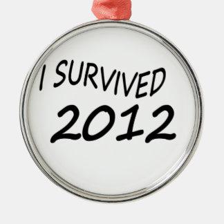 Sobreviví 2012 ornamente de reyes