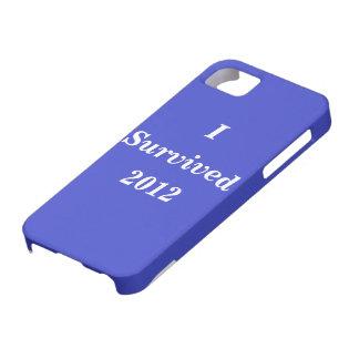 Sobreviví 2012 iPhone 5 fundas
