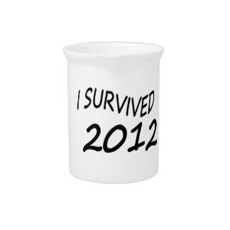 Sobreviví 2012 jarras para bebida