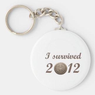 Sobreviví 2012 llavero personalizado