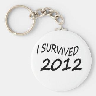 Sobreviví 2012 llavero redondo tipo pin