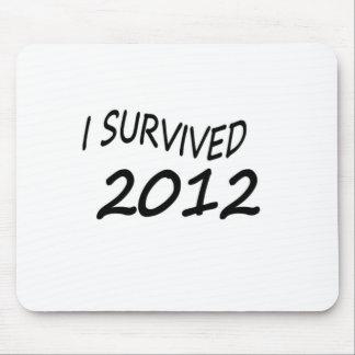 Sobreviví 2012 tapete de raton