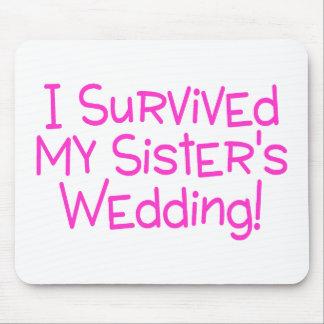Sobreviví a mis hermanas que casaban rosa tapetes de ratones