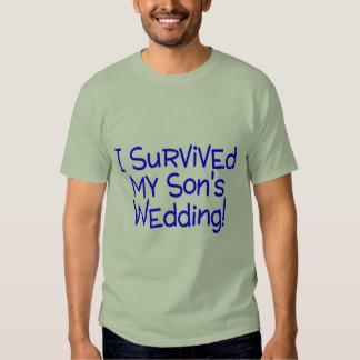 Sobreviví a mis hijos que casaban el azul poleras