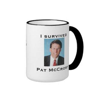 Sobreviví a Pat McCrory Tazas De Café