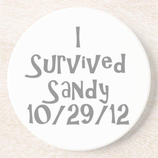 Sobreviví a Sandy 10-129-12 Gray.png Posavasos Cerveza