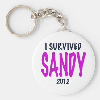SOBREVIVÍ A SANDY 2012 charteuse superviviente d Llavero