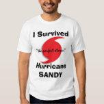 Sobreviví a SANDY Camisas