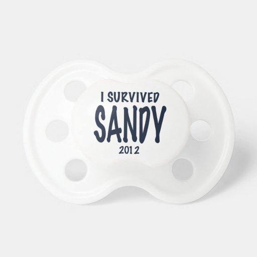 Sobreviví a Sandy Chupetes De Bebé