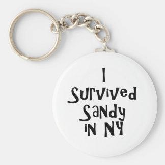 Sobreviví a Sandy en NY.png Llavero