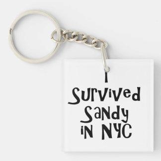 Sobreviví a Sandy en NYC.png Llavero