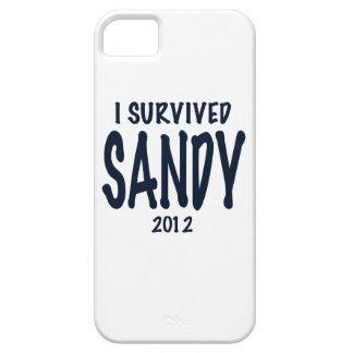 Sobreviví a Sandy Funda Para iPhone 5 Barely There