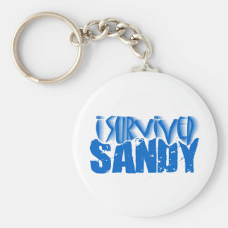 sobreviví a SANDY Llavero Personalizado