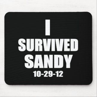 Sobreviví a Sandy Mousepads