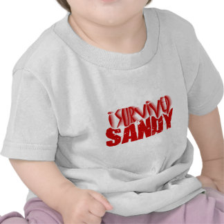 sobreviví a SANDY Camiseta