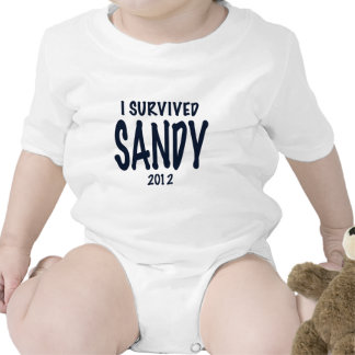 Sobreviví a Sandy Trajes De Bebé