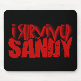 sobreviví a SANDY Tapetes De Raton