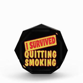 SOBREVIVÍ ABANDONANDO FUMAR