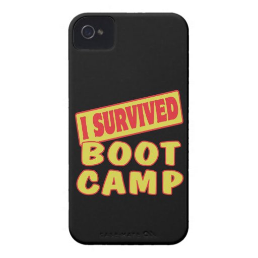 SOBREVIVÍ BOOT CAMP Case-Mate iPhone 4 FUNDA