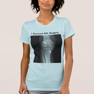 """""""Sobreviví camiseta de la cirugía del ACL"""""""