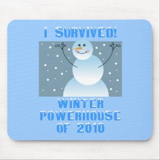 ¡Sobreviví! Central eléctrica del invierno de 2010 Alfombrilla De Ratones