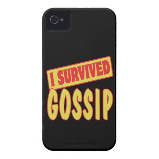 SOBREVIVÍ CHISME Case-Mate iPhone 4 COBERTURAS
